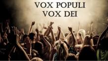 voxpopulivoxdei